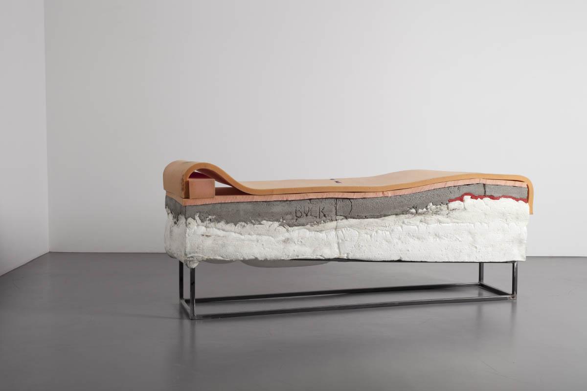 franzbuck, 2015, steel, concrete, foam, silicon, 185cm x 62cm x 45cm © Bodo Schlack