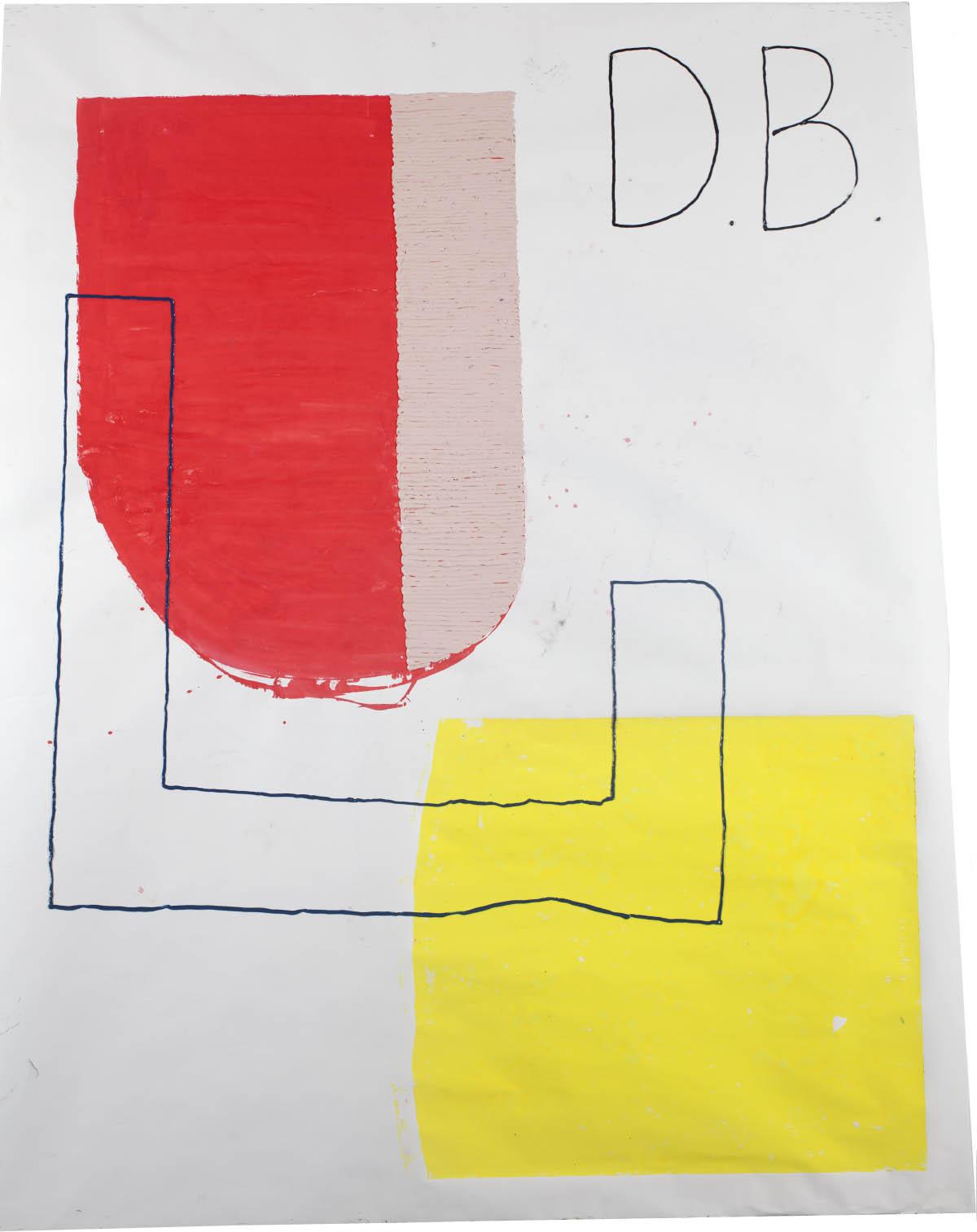 howloveworks, 2015, silicon, linoleum print on paper, 380cm x 320cm, © Bodo Schlack