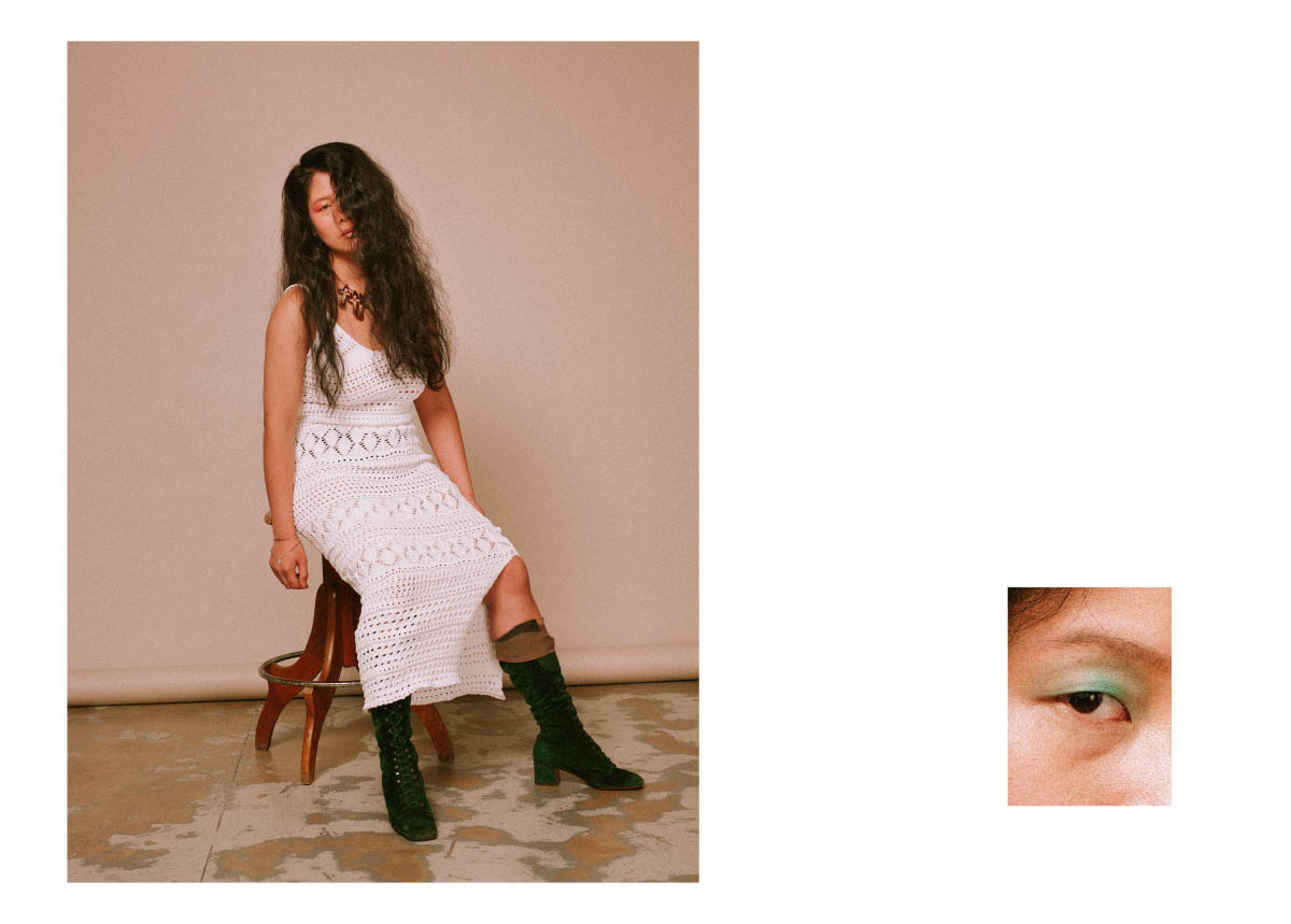 dress  GCDS  boots  POLLINI (VINTAGE)