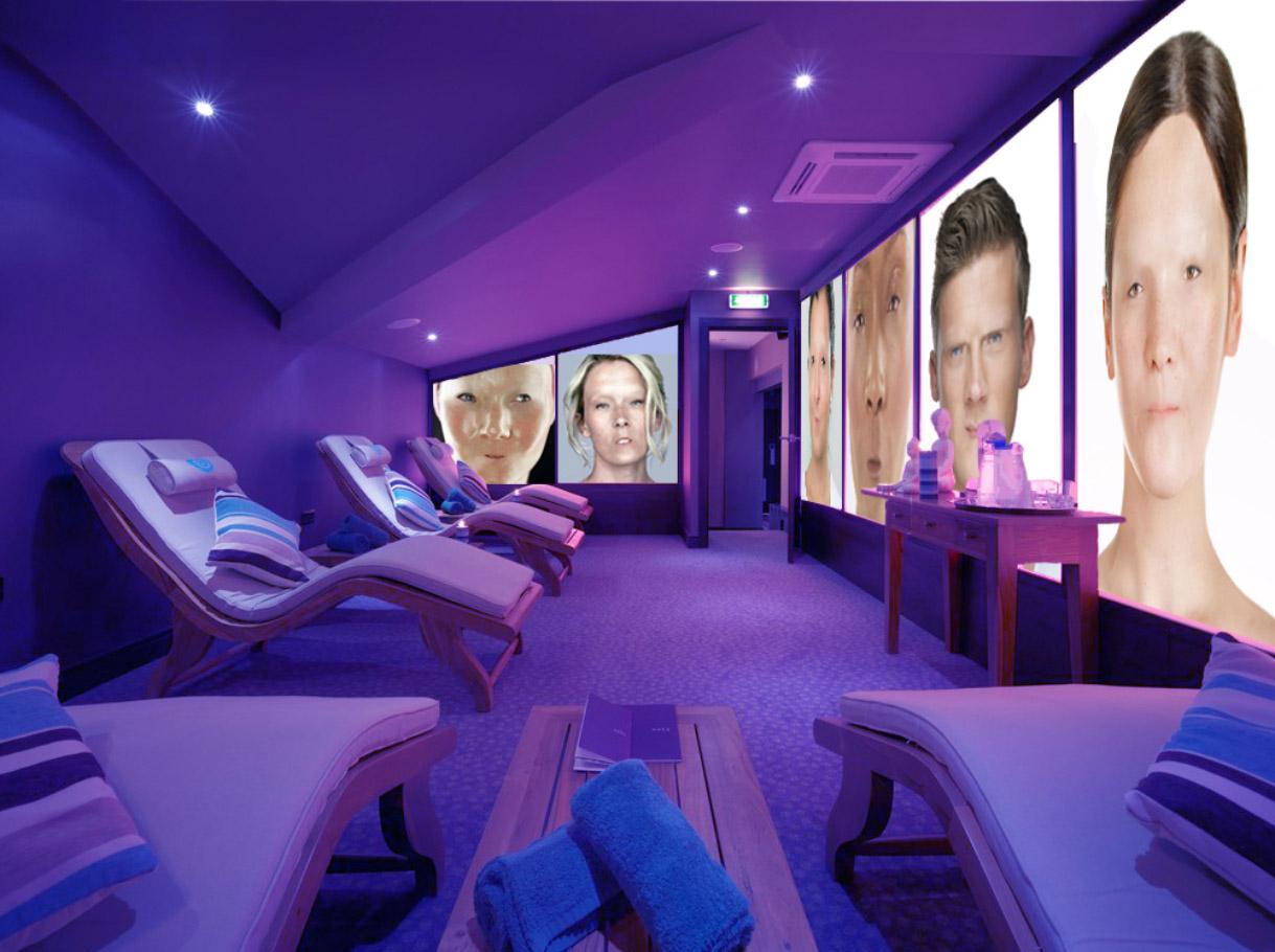 Relax suite. Digital recreation. Spa installation.