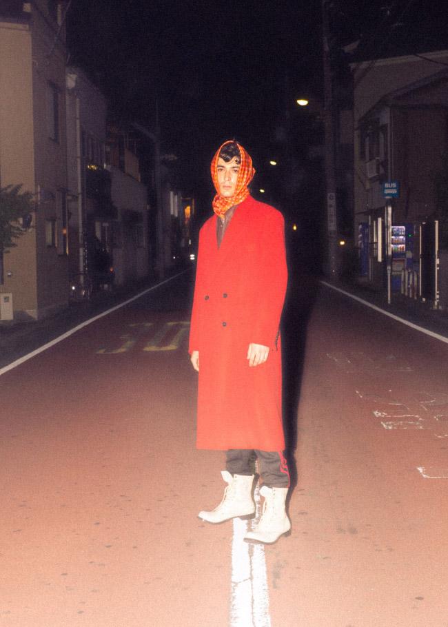 coat  LITTLEBIG  jacket  ALEEGE  bottoms  DOUBLET  scarf  OLDMAN'S TAILOR  shoes  STYLIST'S OWN
