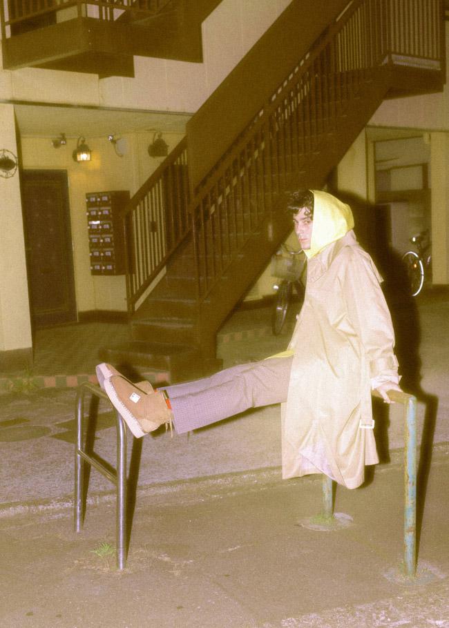 coat  kudos  hoodie  SHINYA KOZUKA  bottoms  ALEEGE  shoes  doublet