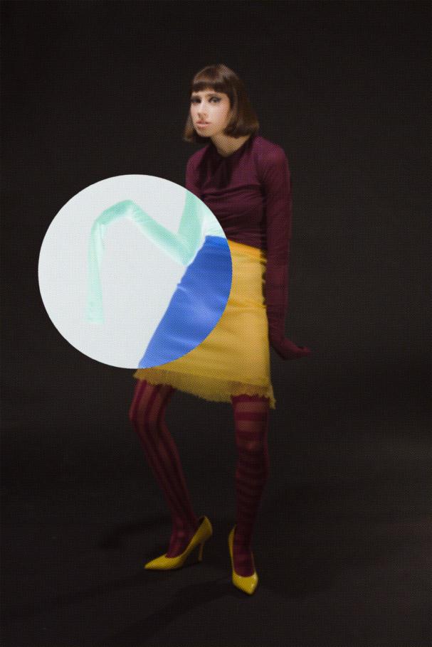 body  Y/PROJECT  skirt  ESCADA  tights  MAISON SOKSI  shoes  DRIES VAN NOTEN