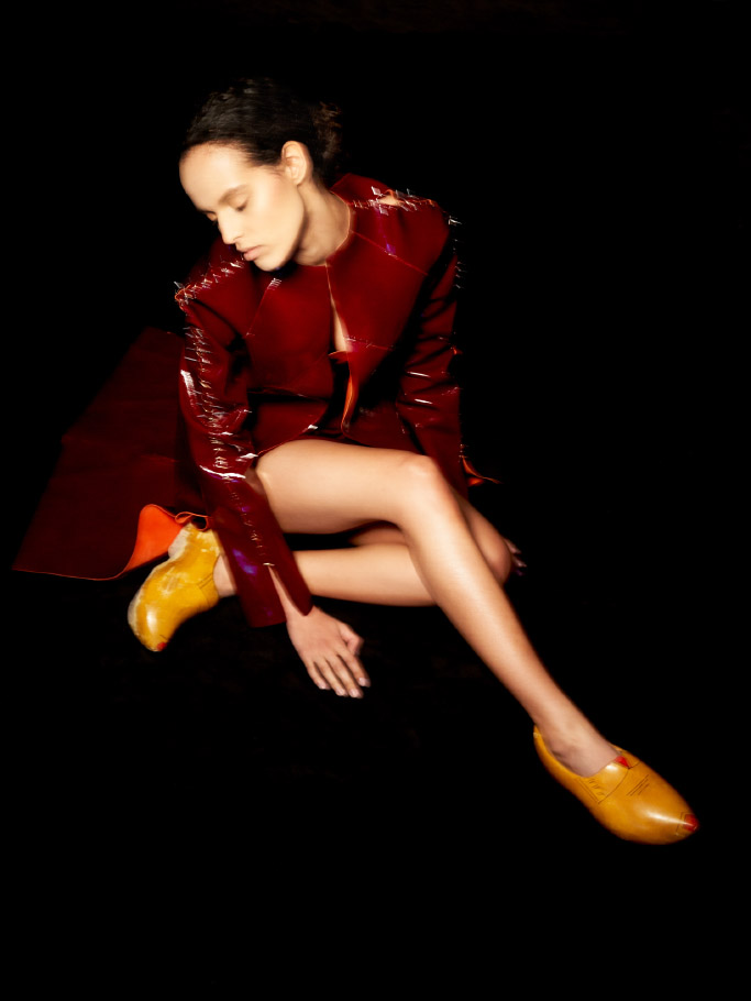 jacket   CAROLINE BRENDOV     shoes  STYLIST'S OWN