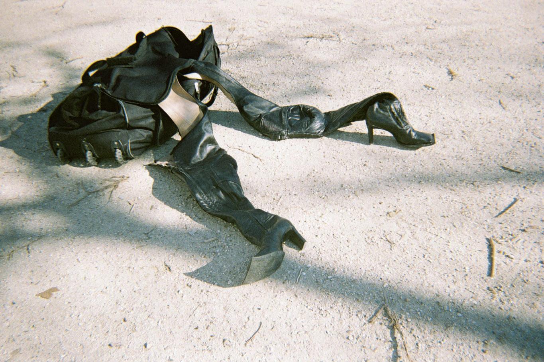 boots  NINAMOUNAH  bag  STYLIST'S OWN