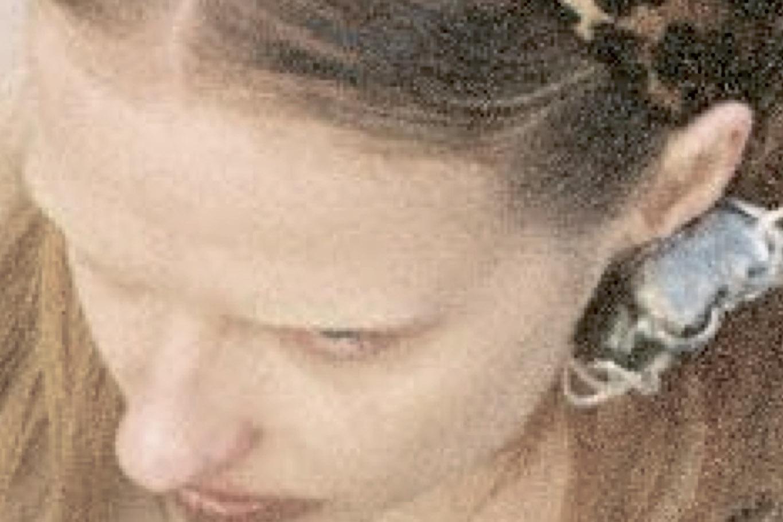 earring  FLORENCE TETIER  scarf  STYLIST'S OWN