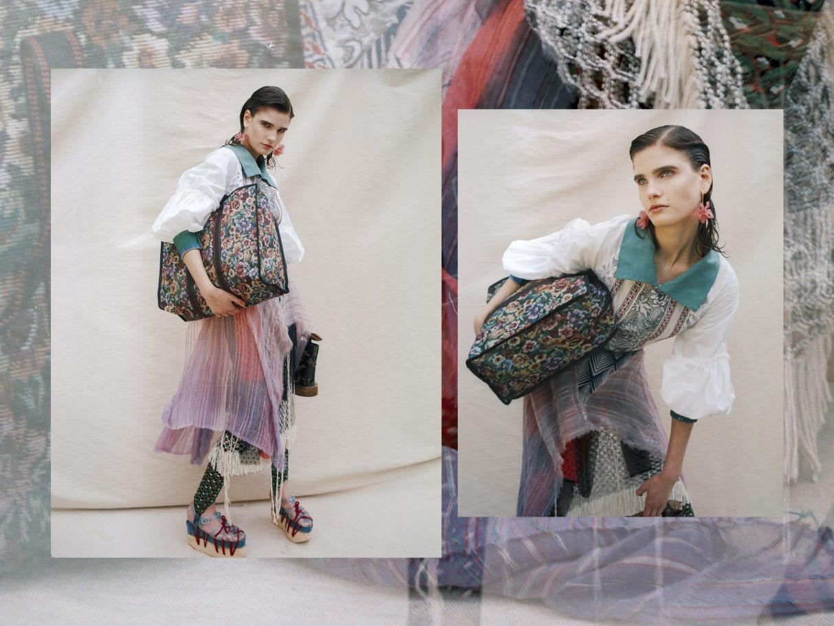dress & skirt   ANNA BERNAL   SHOES   JULIE MENUGE