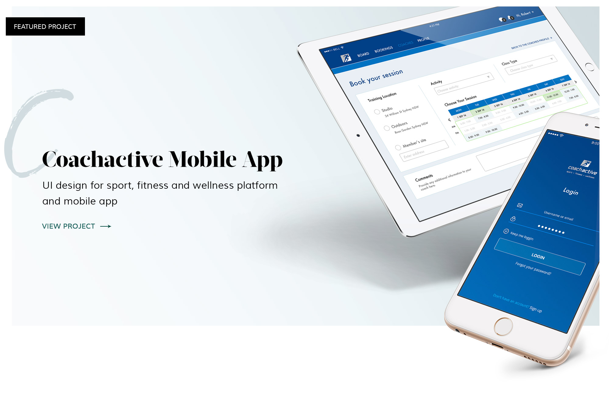 Coachactive Mobile App
