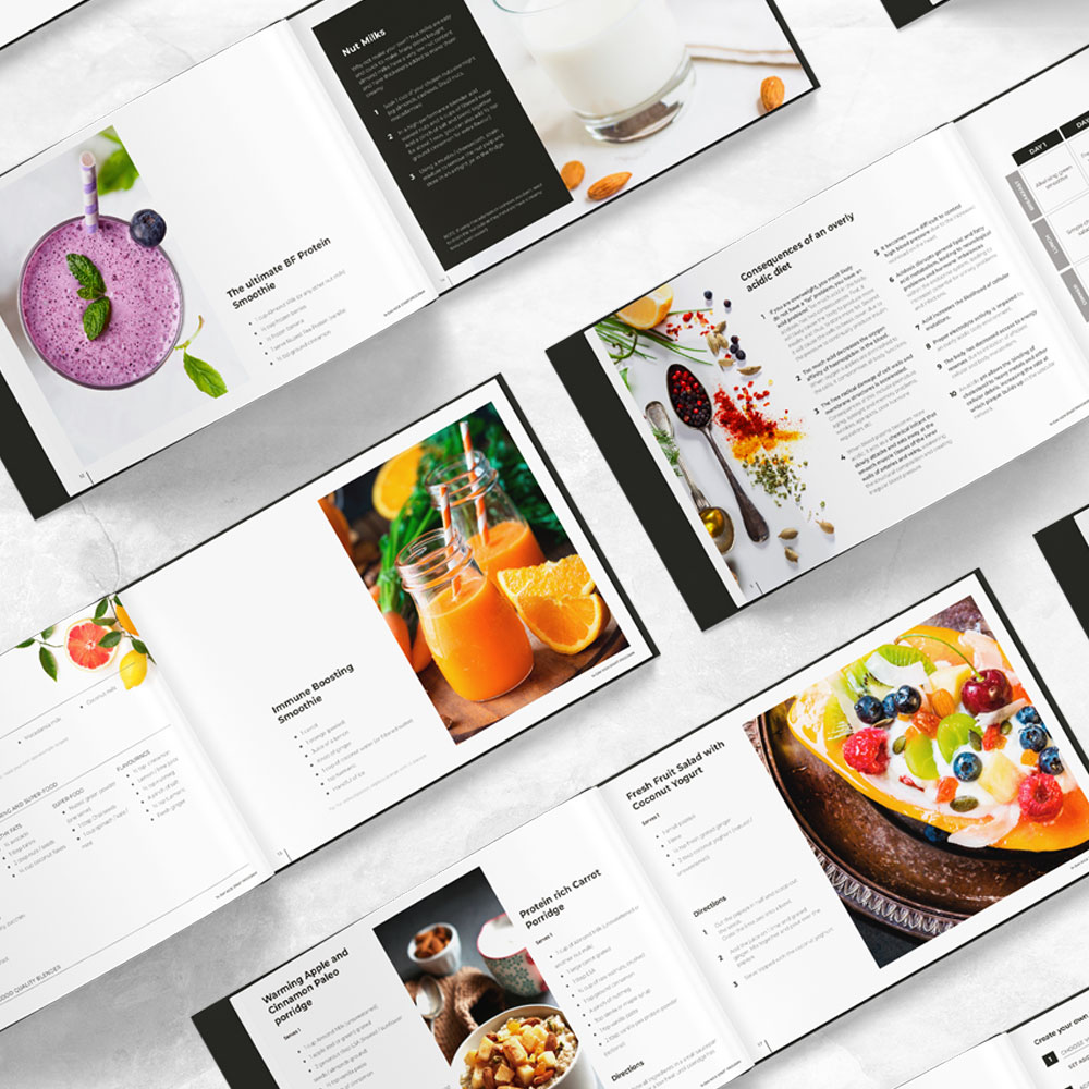 14-DAY KICK START PROGRAM   Book Layout • Art Direction