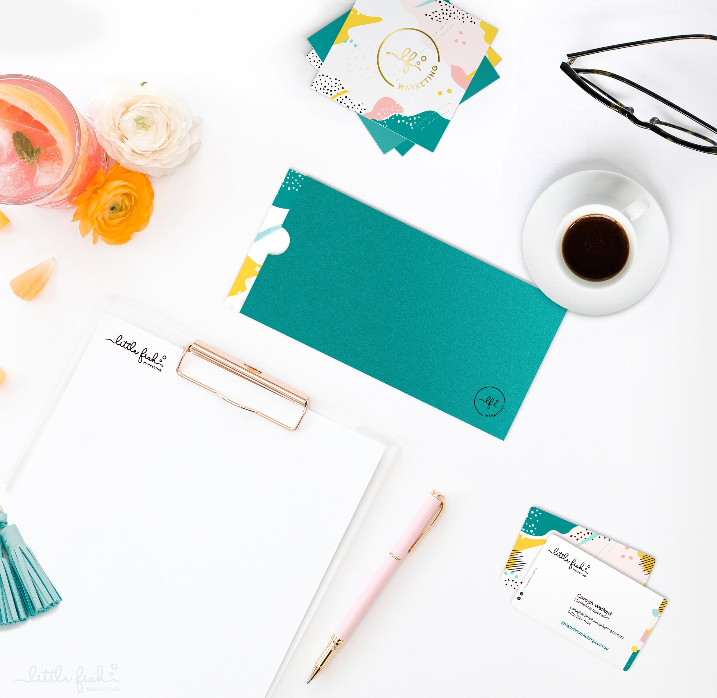 LITTLE FISH MARKETING   Business Stationery • Website Design  COMING SOON…