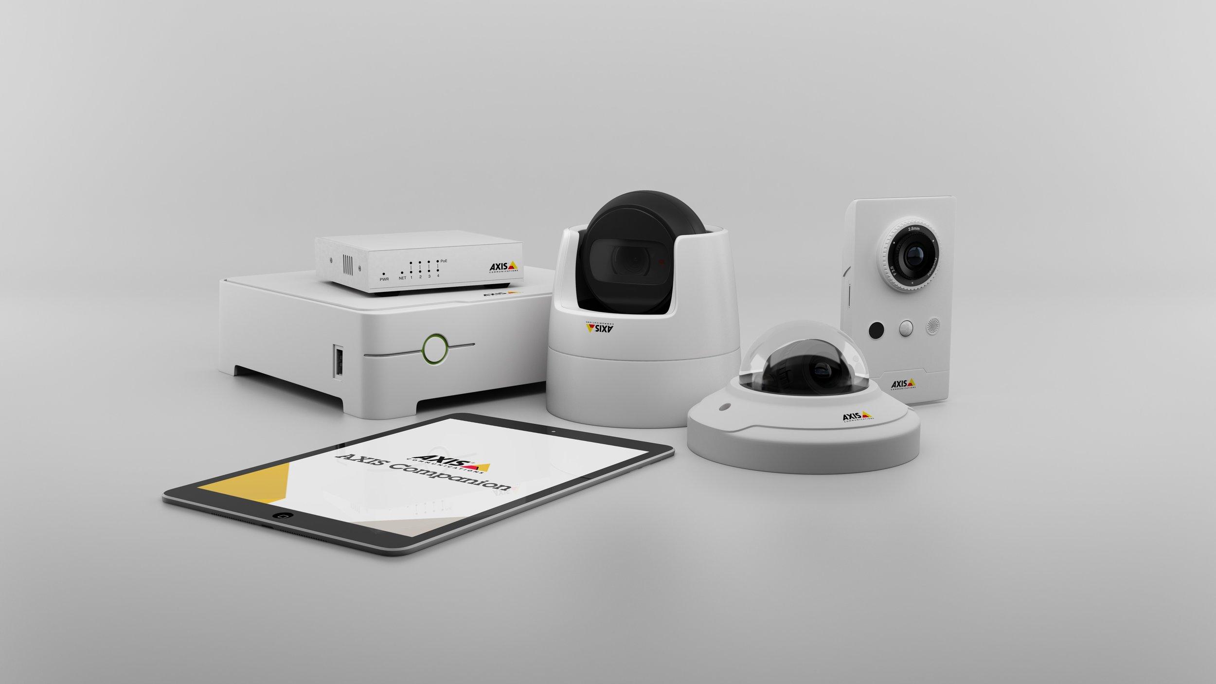 Vidéosurveillance en toute simplicité - Sécurisez vos activités avec une solution de vidéosurveillance facile à utiliser. Avec AXIS Companion, vous pouvez surveiller l'ensemble de vos locaux, aussi bien en local qu'à distance. De par la souplesse et ses options, vous disposez d'une solution d'une grande fiabilité, prête à évoluer en fonction de vos besoins.