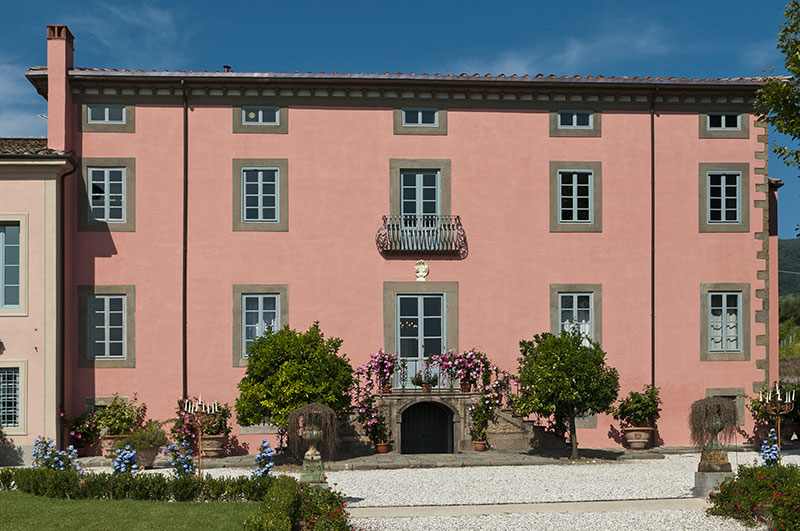 Wedding villa in Lucca