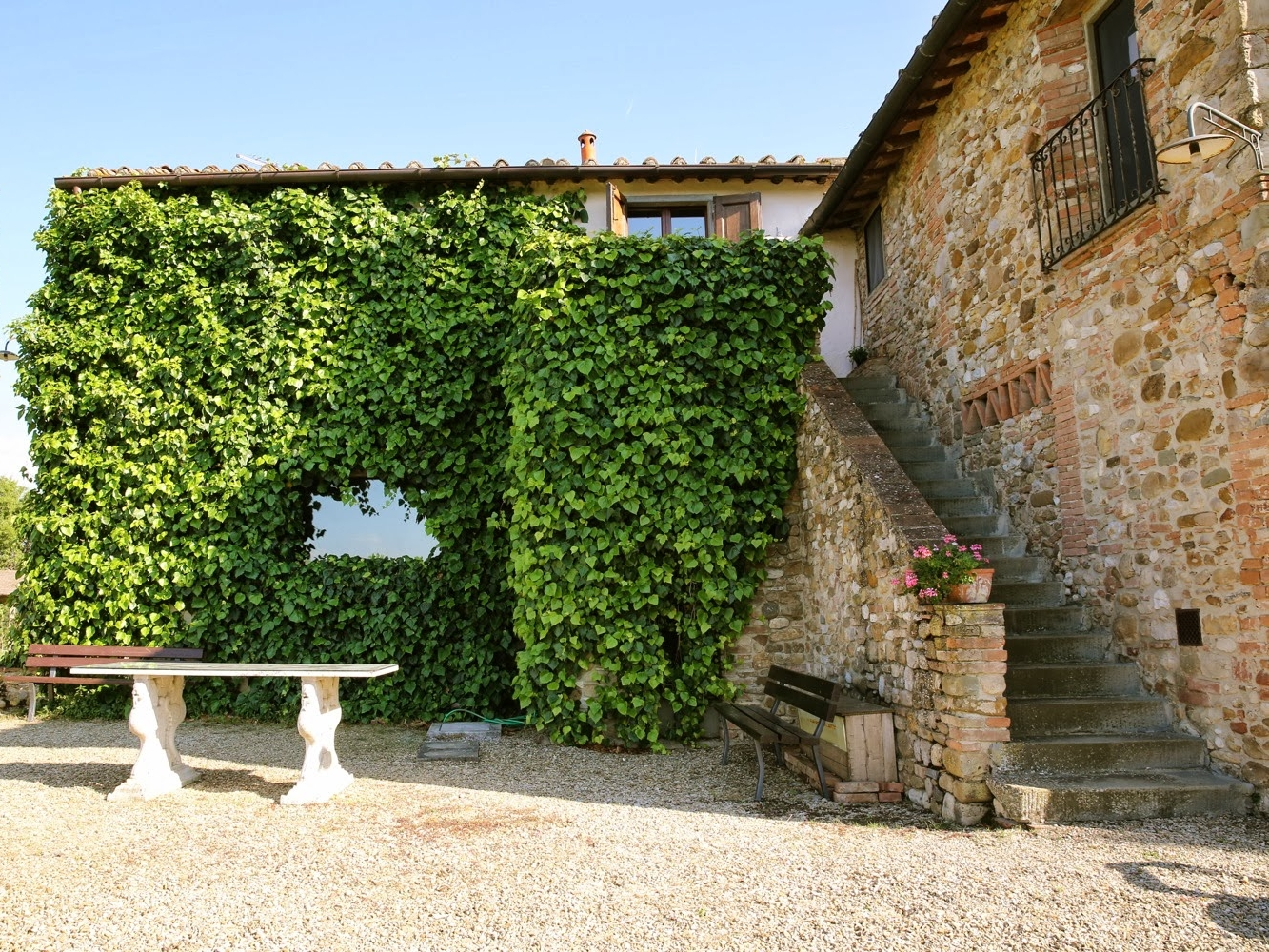 VILLA IVANA - A relaxed and rustic farmhouse surrounded by vineyards. Accommodation onsite for approximately 35 guests.Read More...