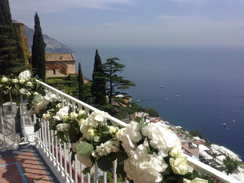 POSITANO TOWN HALL - Civil ceremonies can take place at Positano town hall which has an outdoor terrace with stunning sea views.Read More...