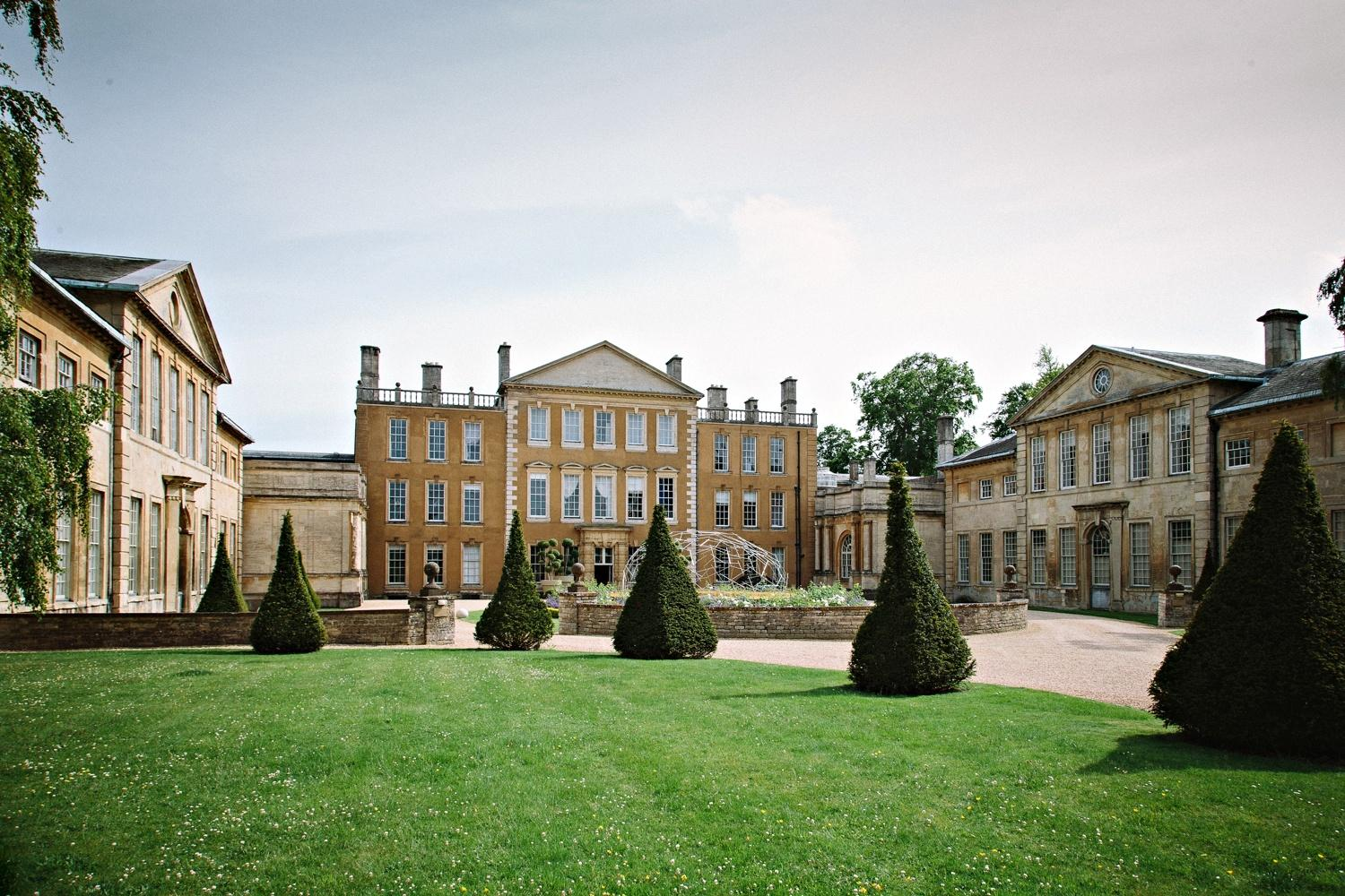 Venue: Aynhoe Park. Image from The Times