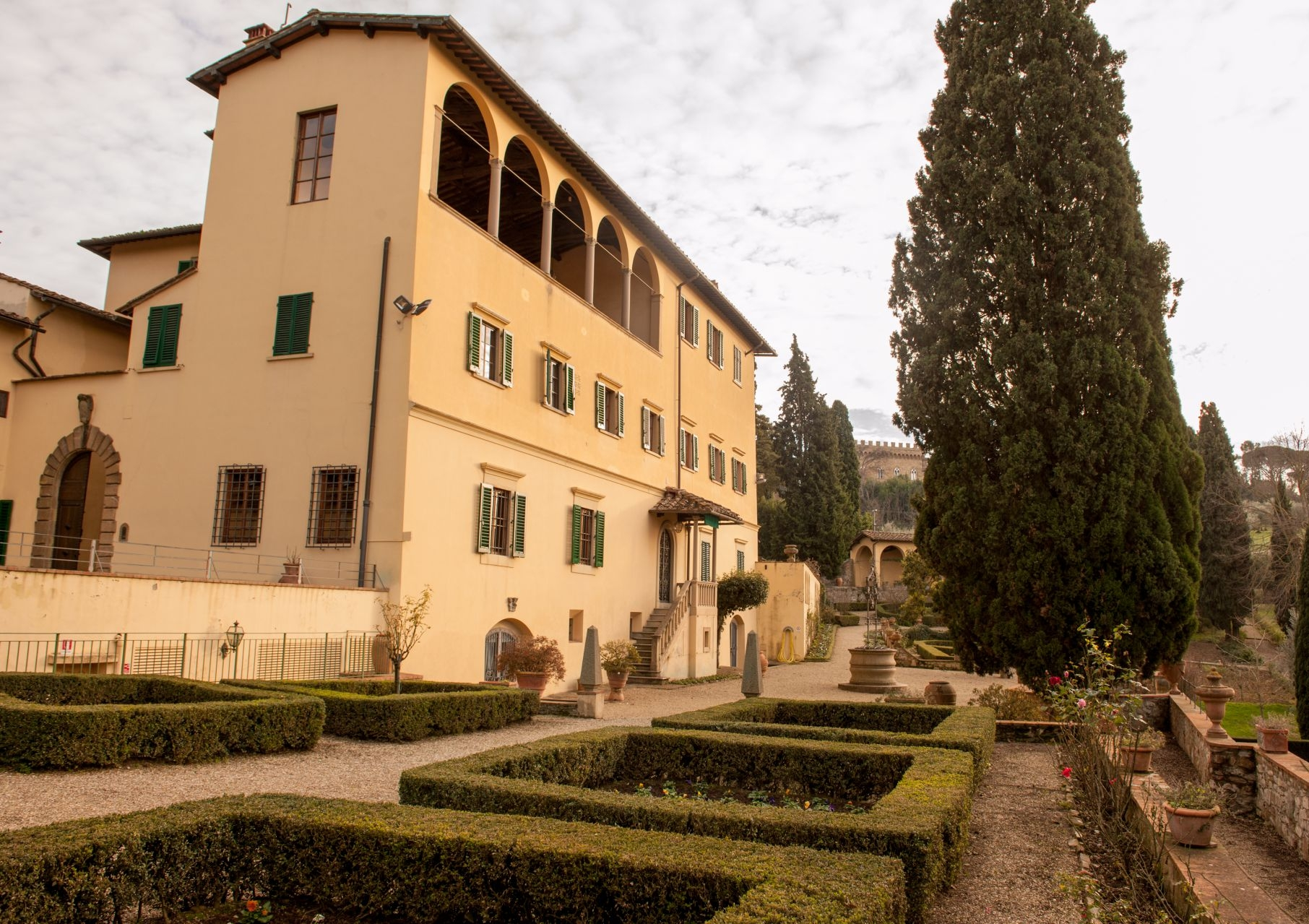 VILLA UMBERTO - This villa hotel was once a historic convent. It has onsite accommodation for 56 and is just 10 minutes from the centre of Florence.Read More...