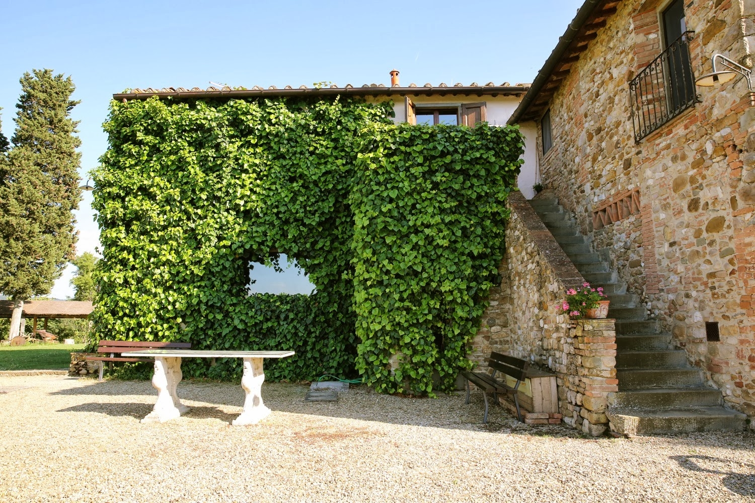 Fattoria La Loggia, Florence - A relaxed and rustic farmhouse surrounded by vineyards. Accommodation onsite for approximately 35 guests.Read More...