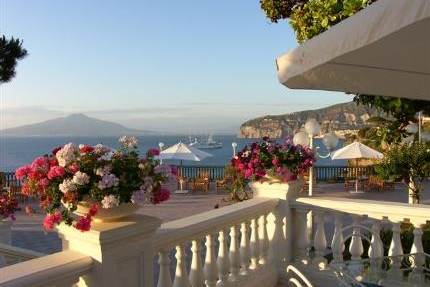 Hotel Caterina, Sorrento - A relaxed hotel in the centre of town with a panoramic sea-view terrace for your reception or symbolic ceremony.Read More...
