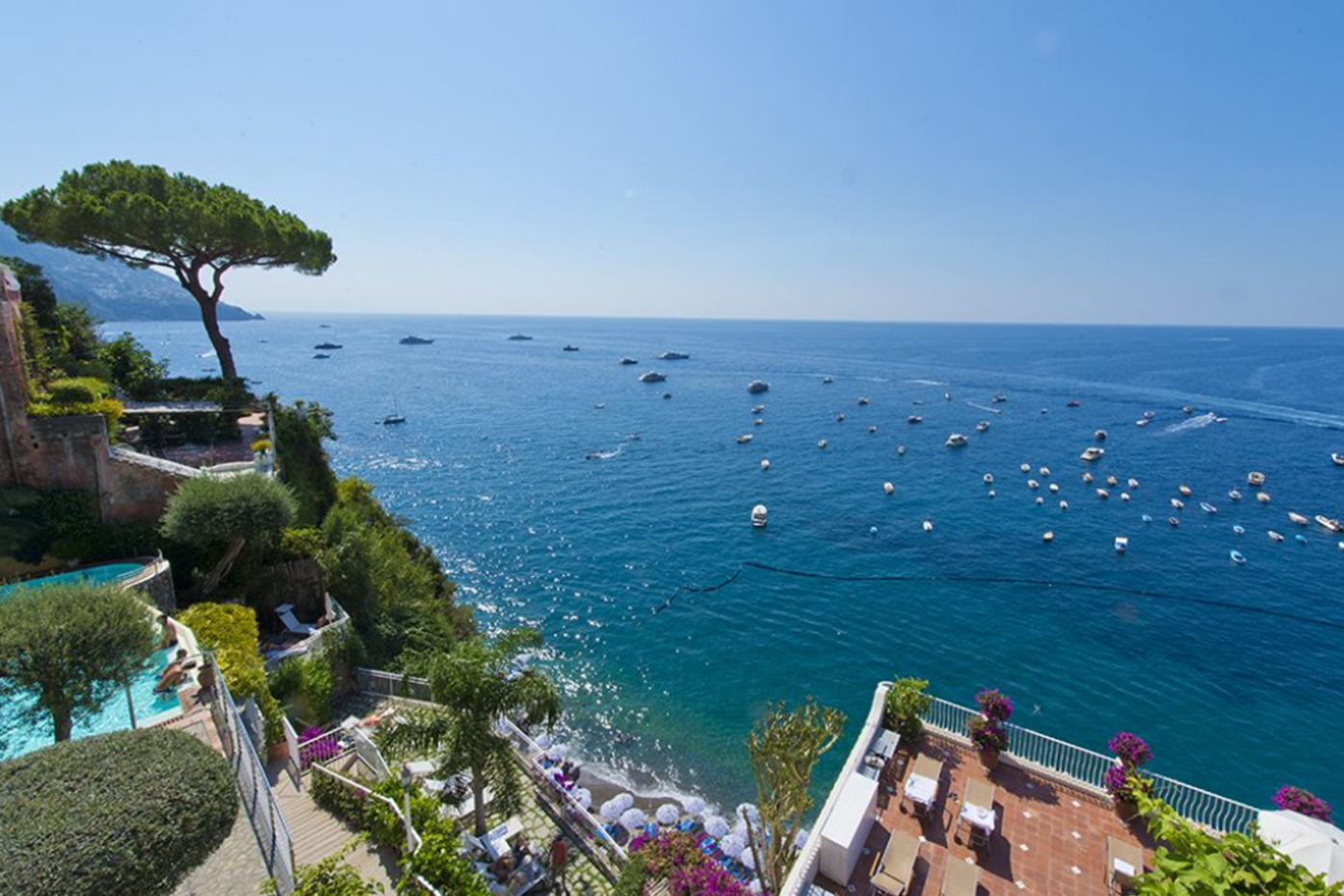 Hotel Emilia, Positano - A relaxed hotel suitable for intimate weddings or larger celebrations, Hotel Emilia has views across the charming town of Positano.Read More...