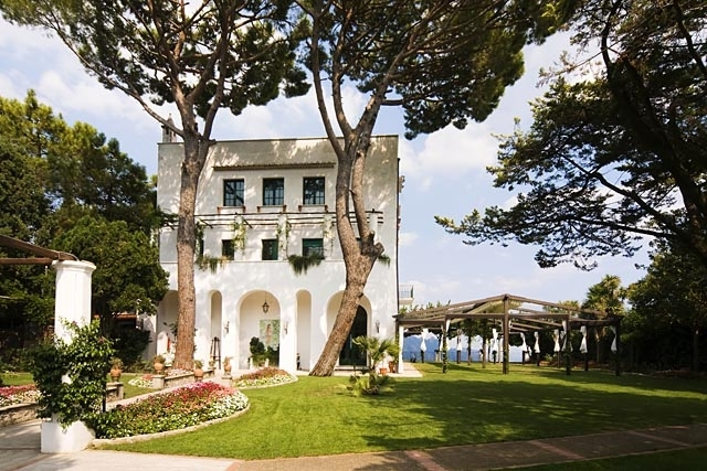 Villa Mario, Ravello - An exclusive event-only villa with intimate, but good sized, grounds and amazing views of the Amalfi Coast.Read More...