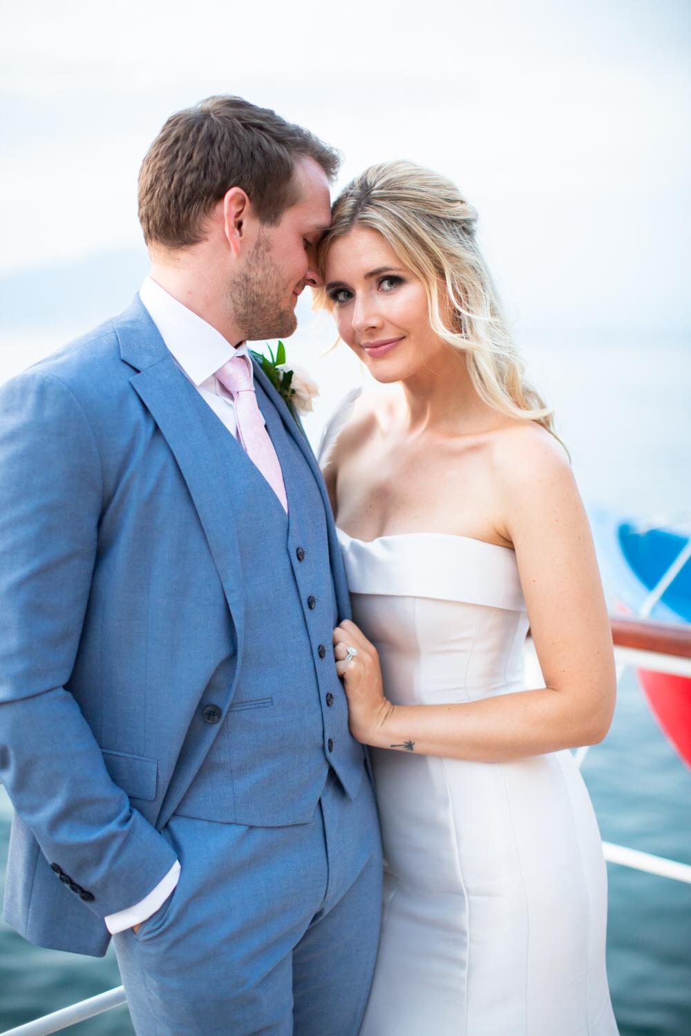 Lizzie & Ally, July 2019 - When we settled on a destination wedding in Sorrento, Italy we decided that we'd need some help sourcing everything for our big day. That's when we hired Emily!My new husband & I both agreed that it was the best money we spent, as the comfort of knowing that everything is taken care of by an expert is priceless; we were able to entertain our guests without worrying about having to organise them. For anyone who is sceptical about investing in a wedding planner, we found that we actually saved money overall from the recommendations that Emily gave us… it's also a bonus to have someone fighting your corner in price negotiations with suppliers!We found Emily to be impeccably organised and budget conscious, and she had our best interest in mind at all times. She has a great eye for detail which meant that all of the vendors she recommended were of a high standard (while in budget) and her styling made the room look stunning on the day. You know your wedding planner's good when you even have guests commenting on how brilliant she is!From remembering to take my hotel room key when I left to walk down the aisle and making the wedding rings appear at the altar after the groom had forgotten them, we couldn't have asked for a more helpful wedding planner.Thank you for giving us the smoothest wedding planning experience and our perfect wedding day! Lizzie & Ally xxxx