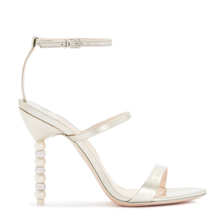 Rosalind by Sophia Webster - It wouldn't be a Sophia Webster shoe without a statement heel now would it?!Available for £395 at https://www.sophiawebster.com/