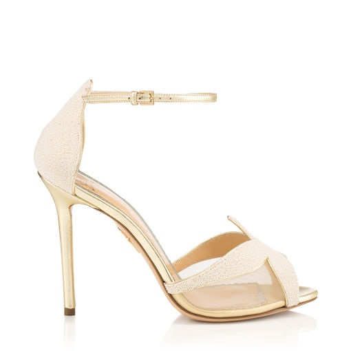Sandrine by Charlotte Olympia - These shoes are gorgeous, and currently in the sale…who doesn't love a bridal bargain!Available for £220 at https://www.charlotteolympia.com/en/co/sale/sandrine-platinum-B003344MNA0049.html