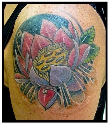 Lotus Flower Tattoo Morden