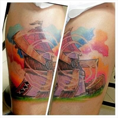 Windmill Tattoo Morden