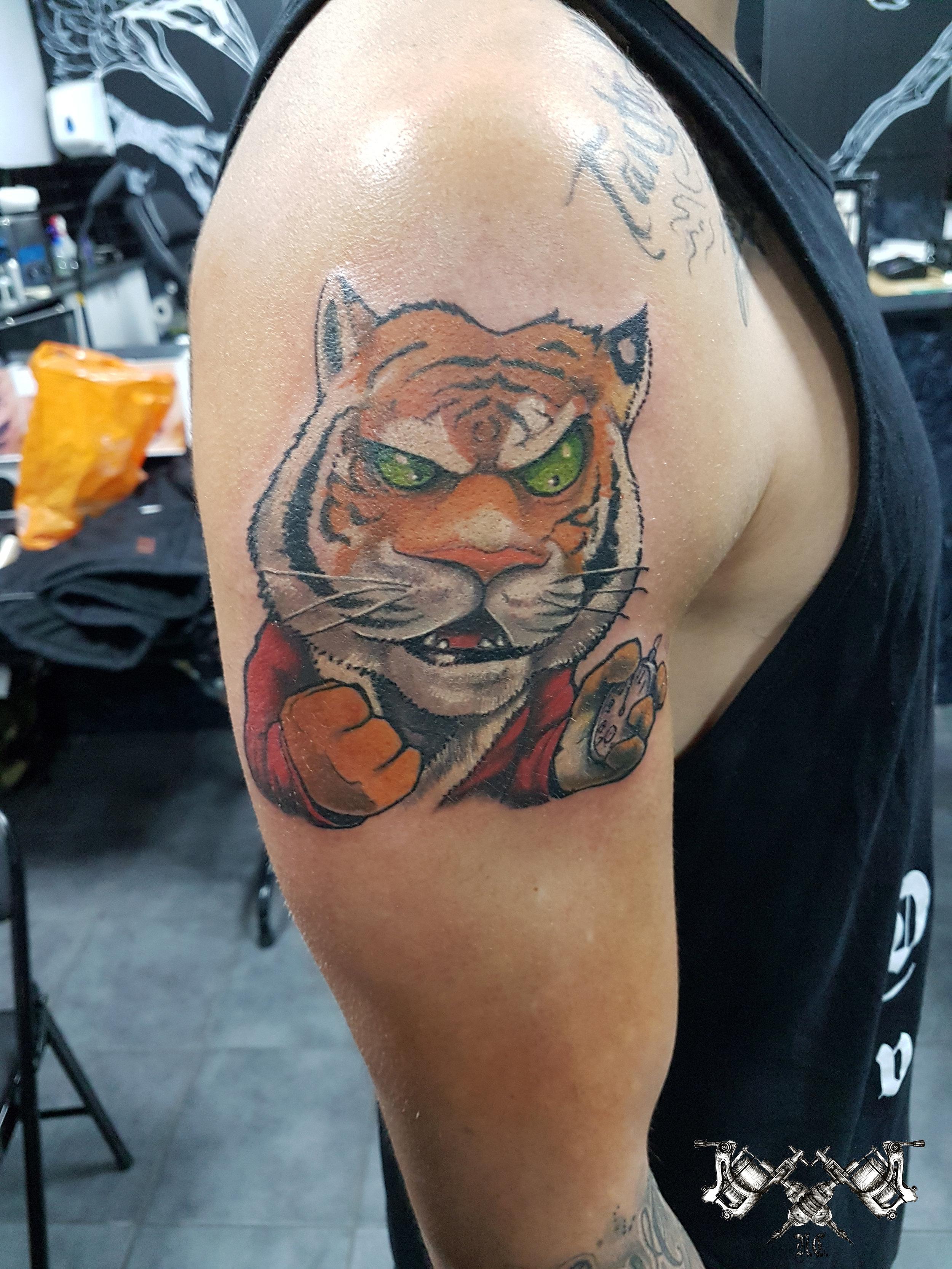 Tiger Tattoo Morden