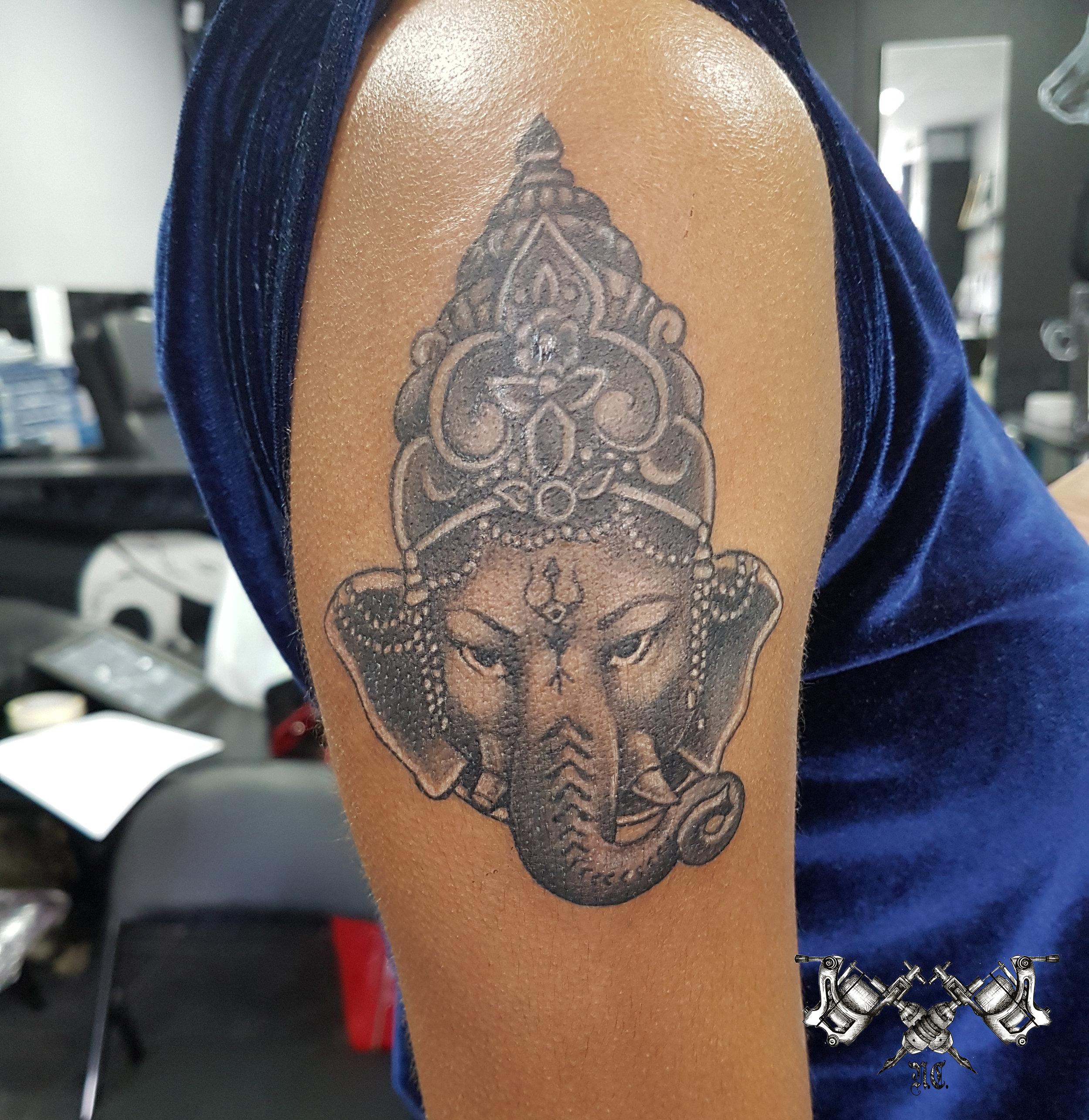 Ganesha Tattoo Morden
