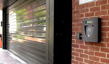 telephone guest entry system integrates with whole-property access control and vehicle entry.