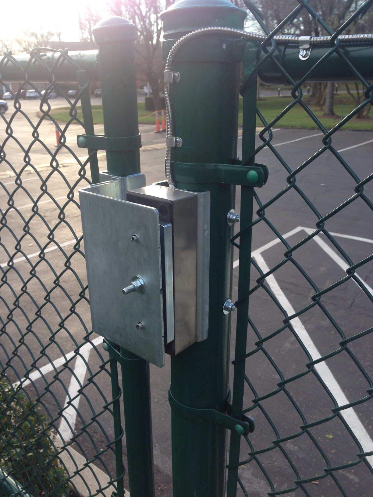 Web Managed Exterior Gate Access Control