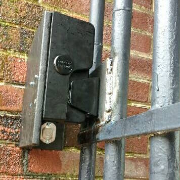 Locking for Gate Security