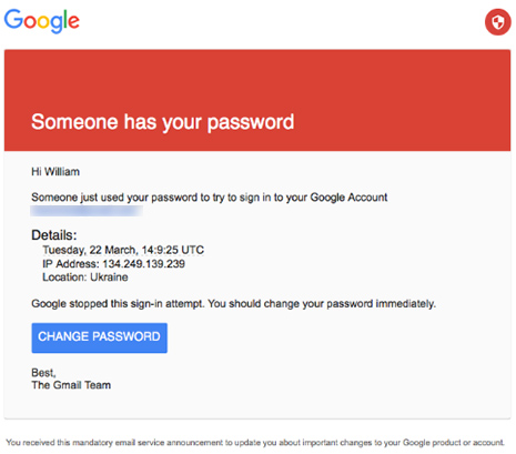 A screenshot of A phishing email received by Myself and many of the victims of this breach (Image: The Smoking Gun via Motherboard.com)