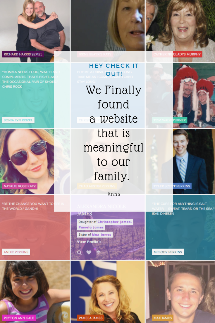We are bombarded with social media, emails and text messages. Create your own family website to showcase and preserve the essence of your family. Get started today.