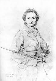 Ingre's Paganini