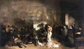 Painter's Studio       Gustave Courbet