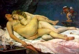 The Sleepers         Gustave Courbet