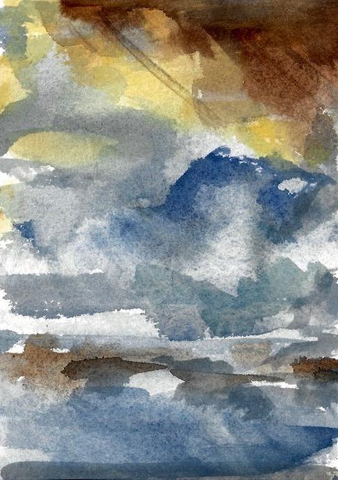 Sunset Panel 6