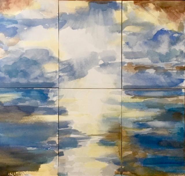 Watercolor Panels 6    5X7 each