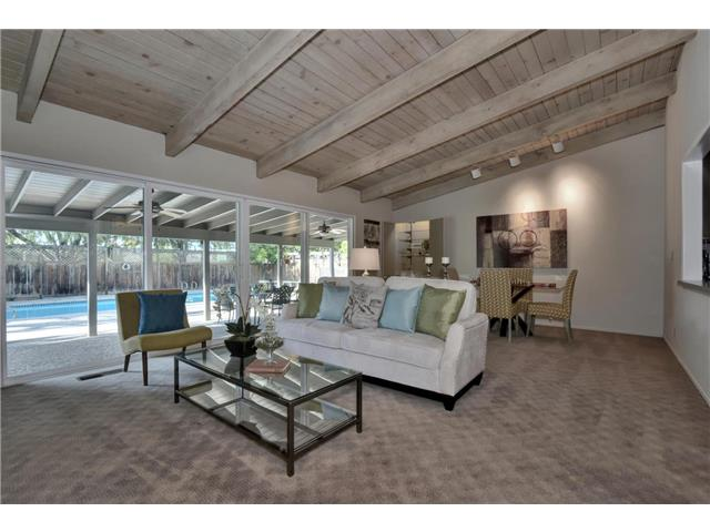 SOLD:  12335 Goleta Ave, Saratoga  Spacious living for entertaining  Offered at $1,799,000 - represented buyer