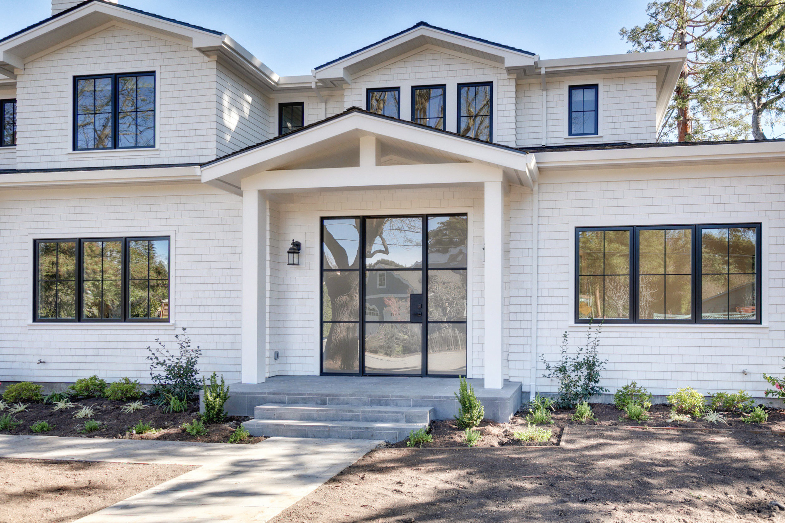 SOLD: 1931 Camino A Los Cerros, Menlo Park  Classic architectural form with a modern twist paired with contemporary interior  Offered at $5,325,000