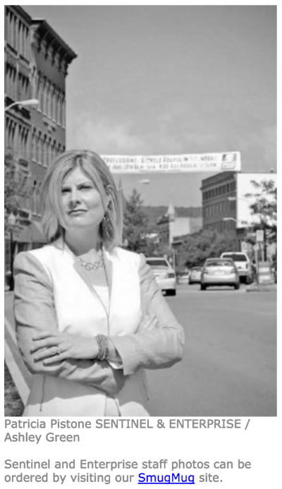 FITCHBURG -- While giving back to the community may not have been in the job description, Patricia Pistone of the Montachusett Opportunity Council has immersed herself in public service through the numerous professional positions she's held throughout her career...   Read more here!