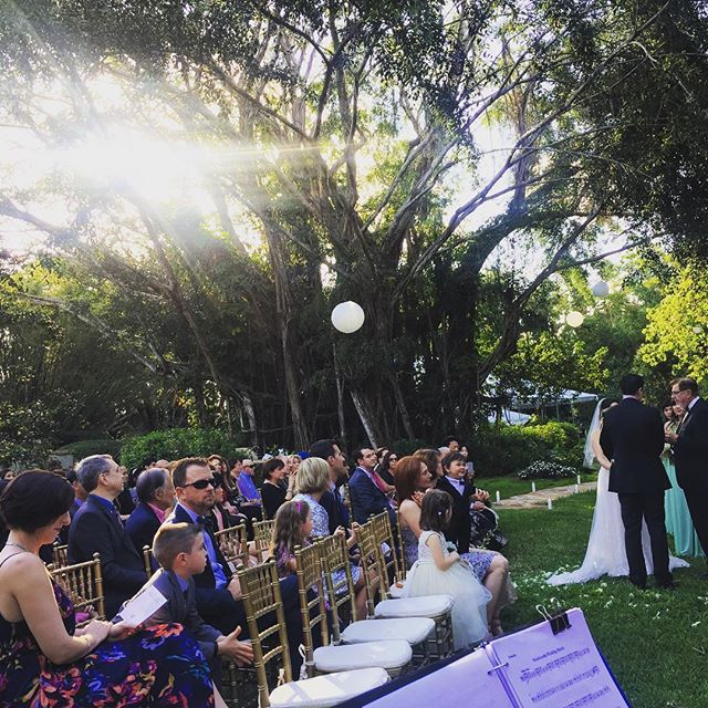Today's wedding ceremony at Southwest Ranches! Zito-Lee wedding. #stringduo #miami #libermusicevents #livemusic #weddingwire #music #ceremony #vendors #weddingceremony #weddings #southbeach #miamibeach #florida #perfectwedding #booking #entretenimiento #events #floridabride #realweddings  #weddingplanners #luxuryweddings #unique #planner  #bestweddings  #southfl #thebestmusic  #bride #miamiweddings #bestmusic #2018 Visit our website for the best options in music for you event! www.libermusicevents.com