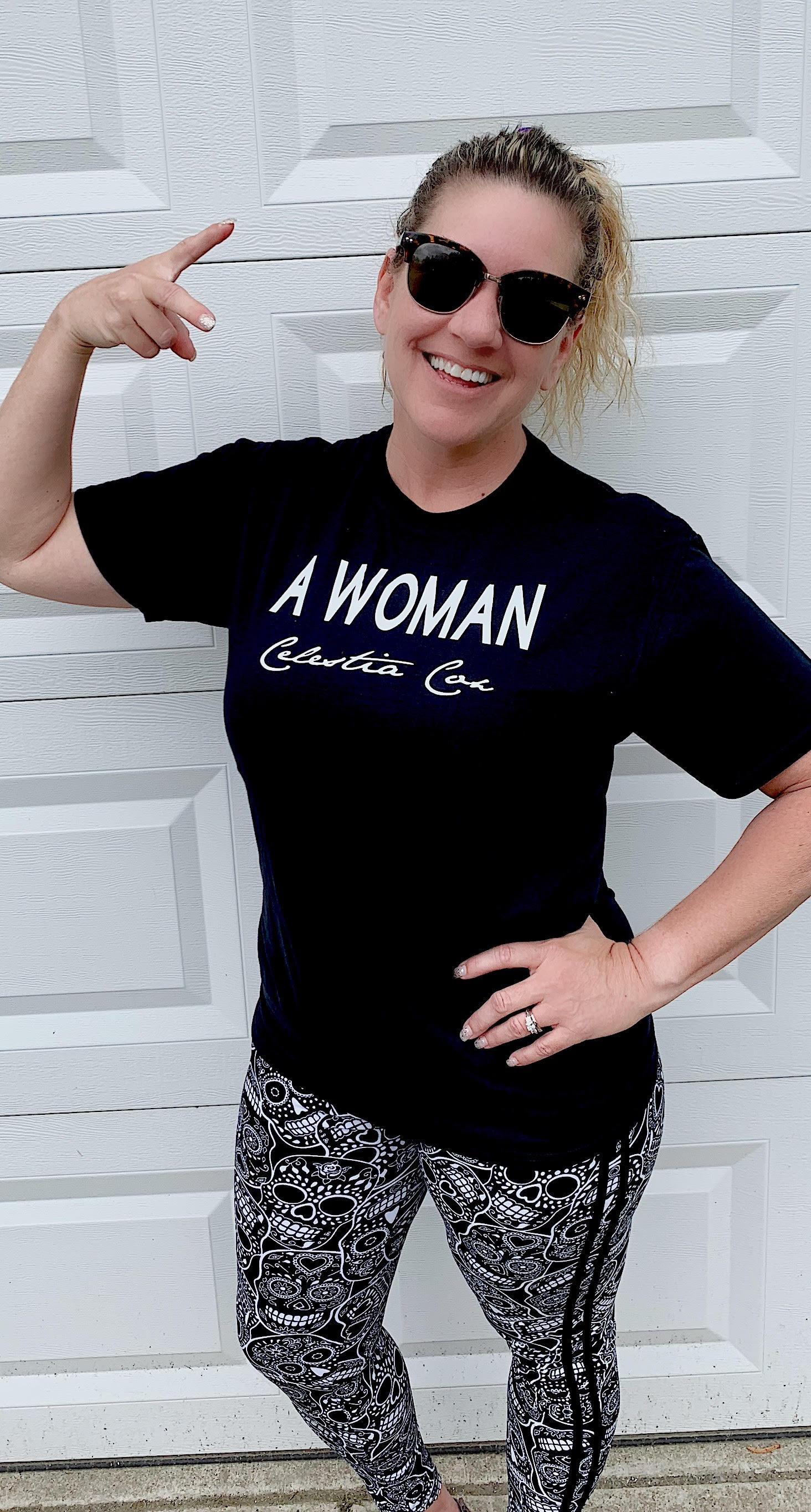 """""""A WOMAN"""" - Available in unisex shirts and tank styles."""