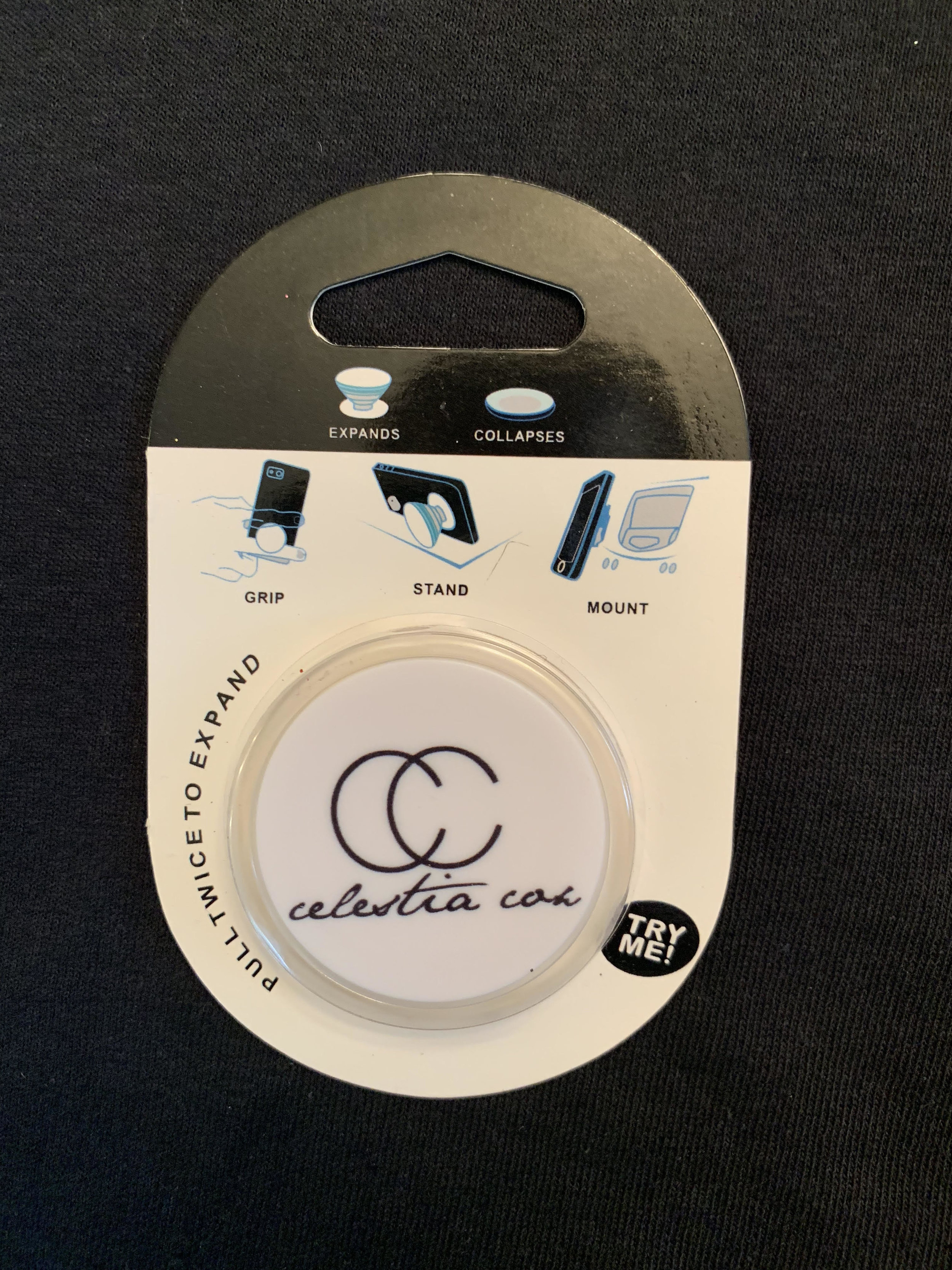 Celestia Cox Logo Popsocket.