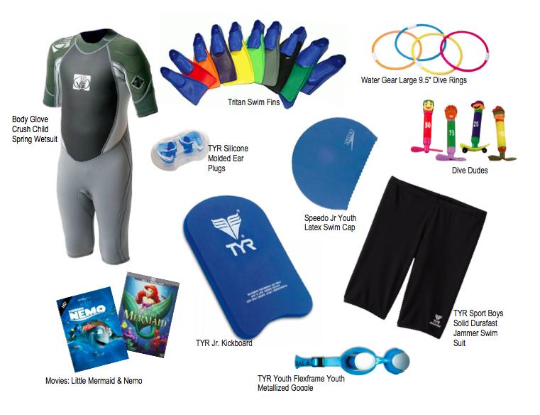 Boris Talan favorite swim coaching equipment for kids children