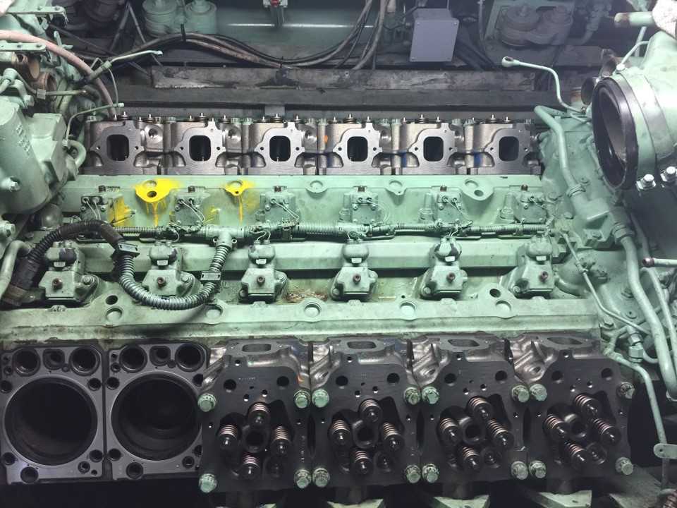 OVERHAUL SERVICE FOR THREE MTU series 2000 ENGINES for Catalina CruiseS Ferry