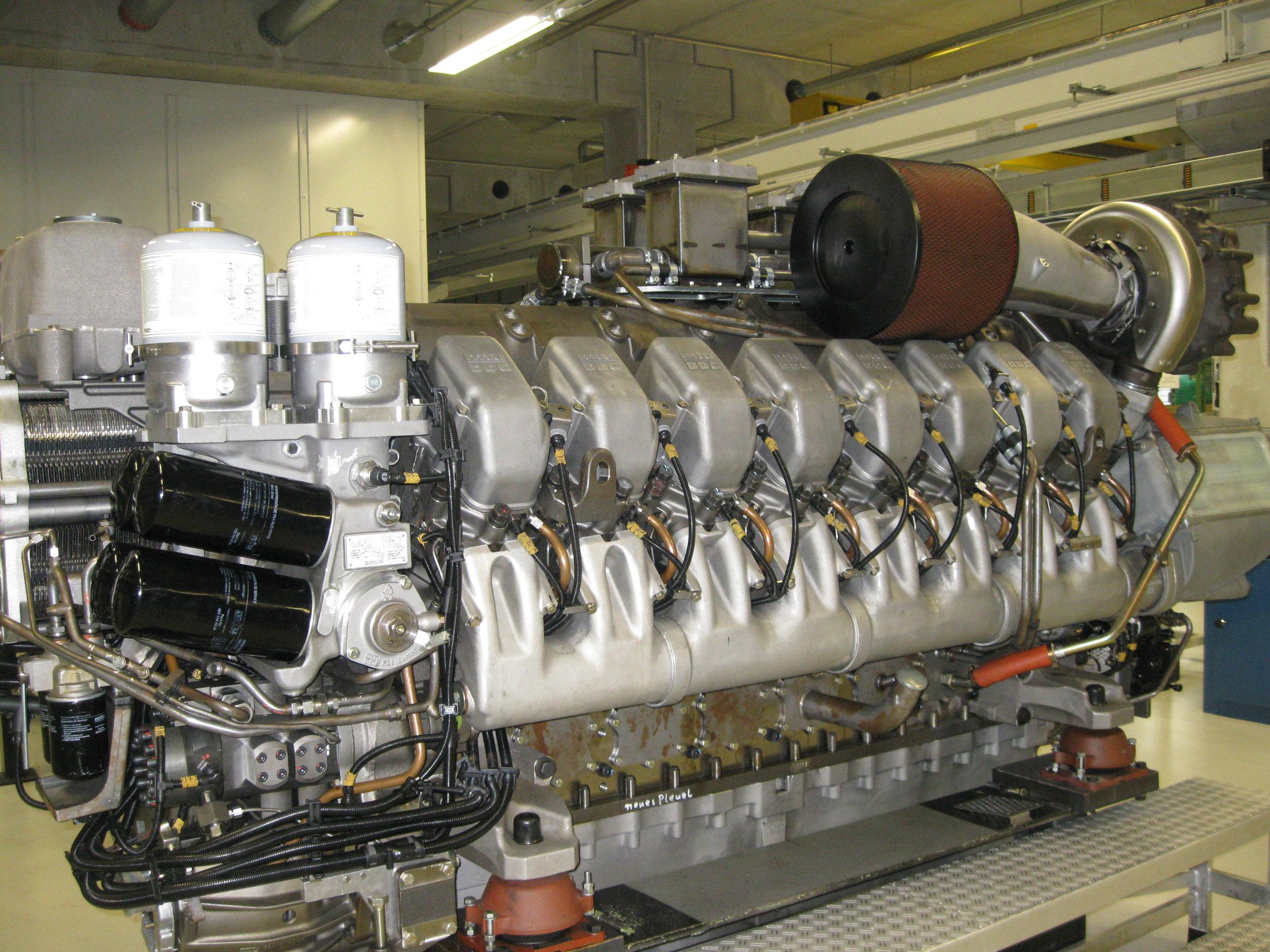 MTU Series 4000 Marine Overhaul